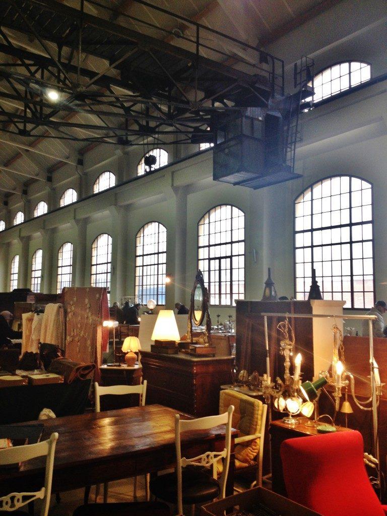 Il Mercato dell'Anriquariato nelle Ex Officine Breda