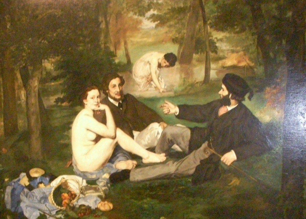 Manet, Colazione sull'erba