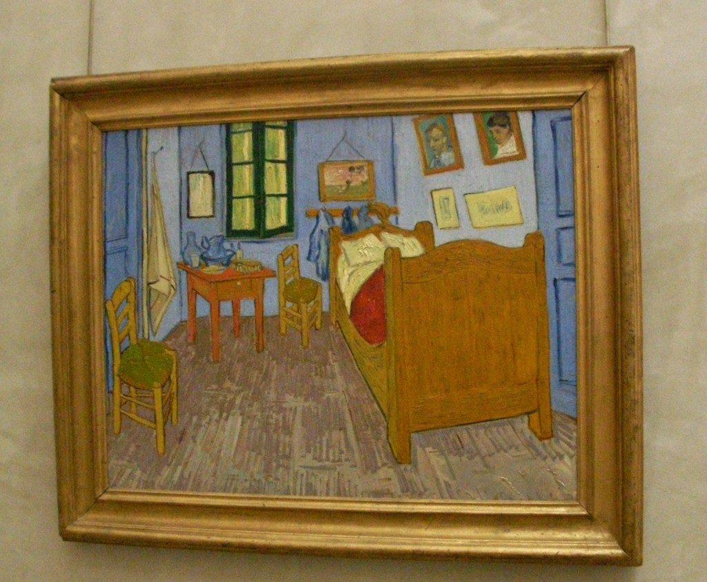 Van Gogh, la sua camera ad Arles