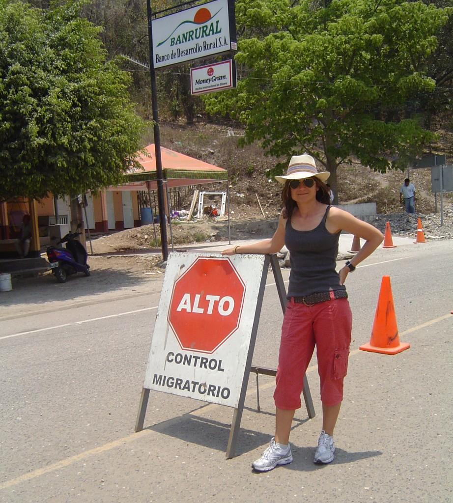 Sul confine tra Guatemala ed Honduras...