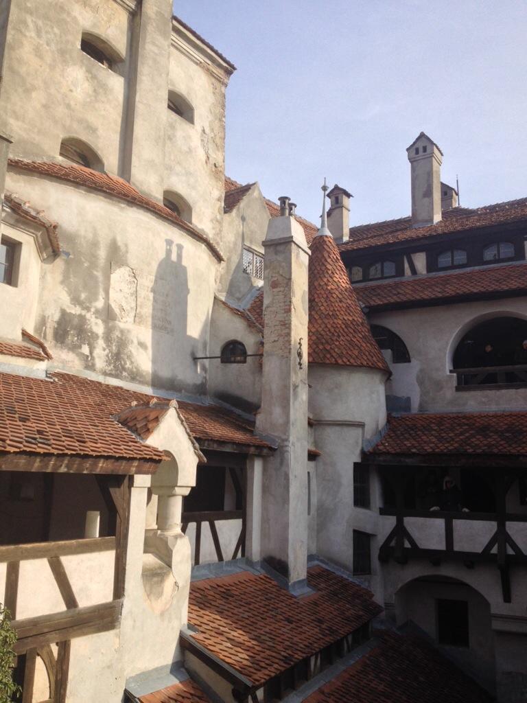 Nel castello di Bran...