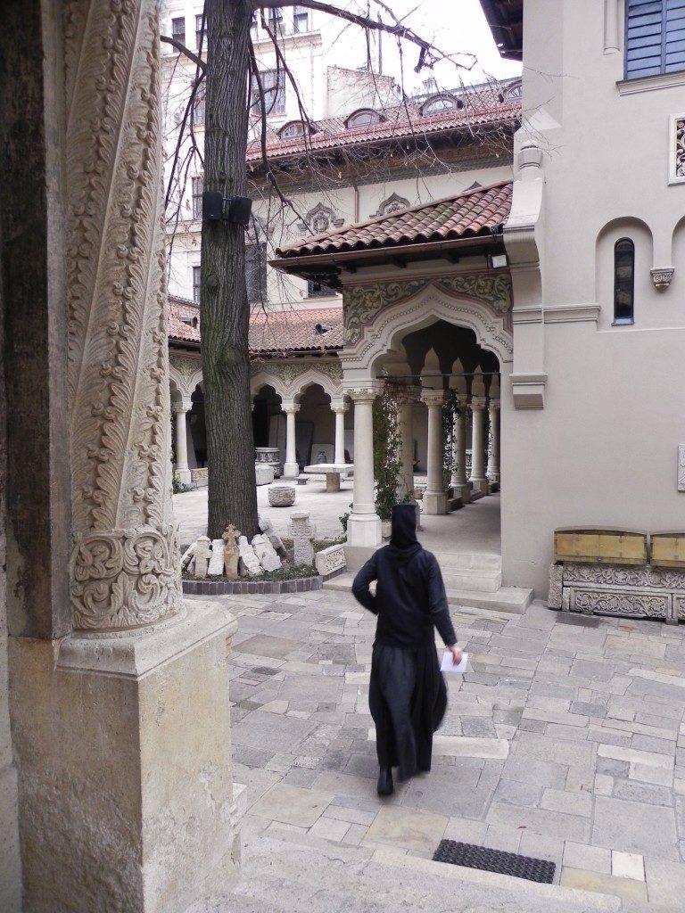 Il piccolo monastero della Chiesa Stavropoleos