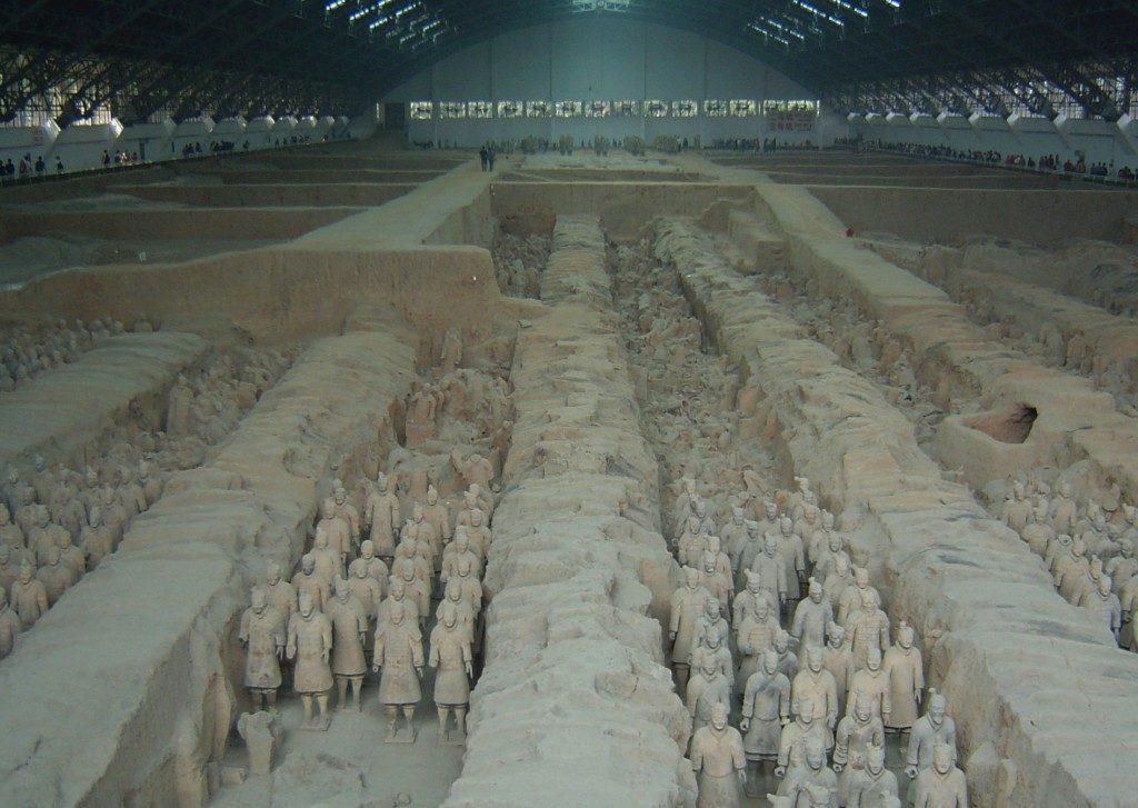 L'Esercito di Terracotta.