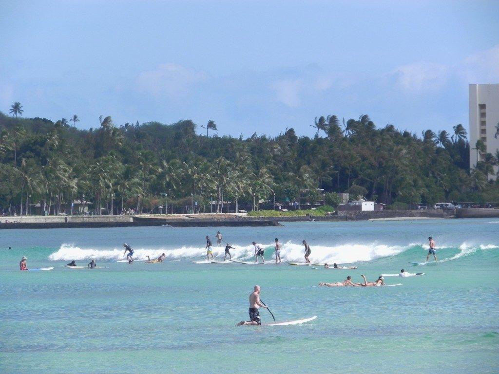 Una normale giornata a Waikiki