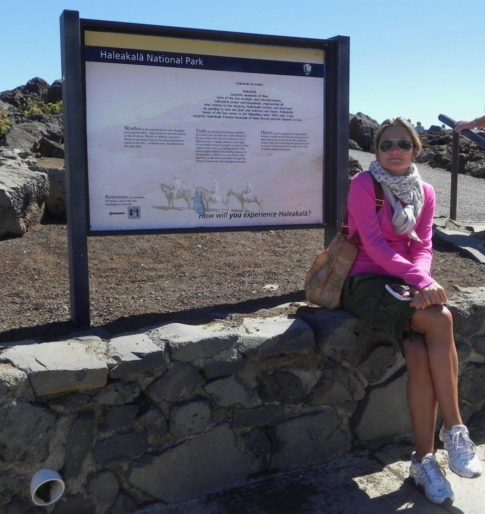 Sul parco Vulcani di Maui