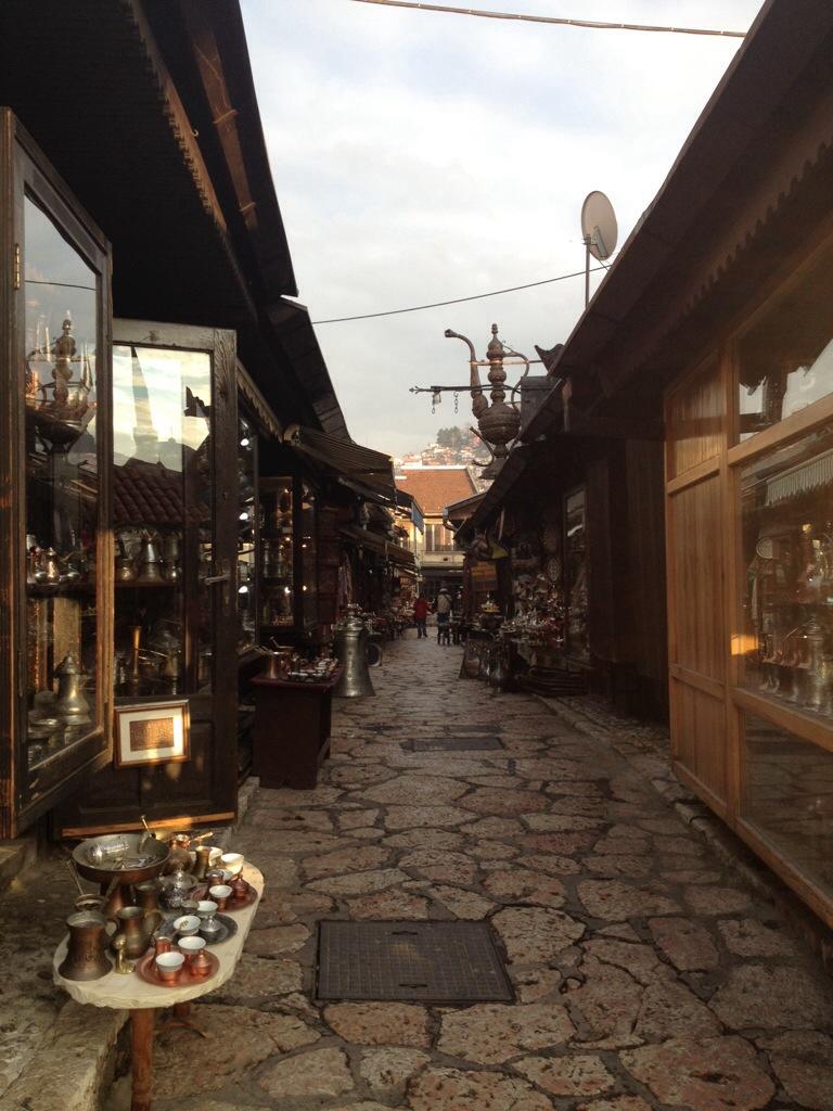 Le vie del quartiere turco...
