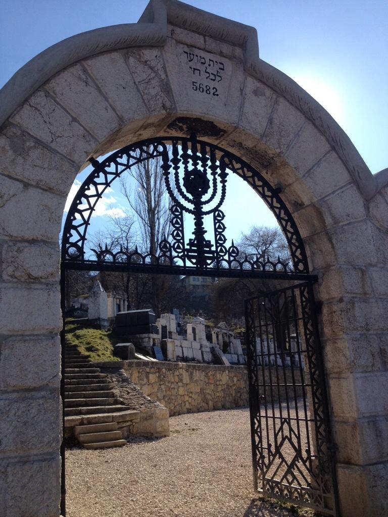 Il cimitero ebraico di Yraca, la