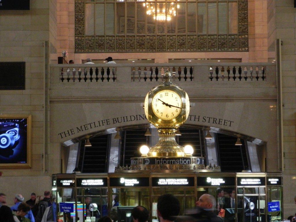 L'orologio della Vanderbilt Hall