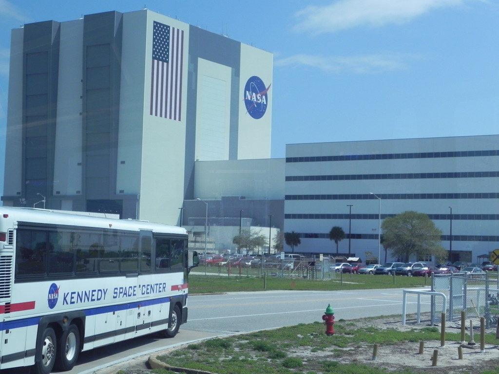 Il palazzo in cui viene assemblato lo shuttle
