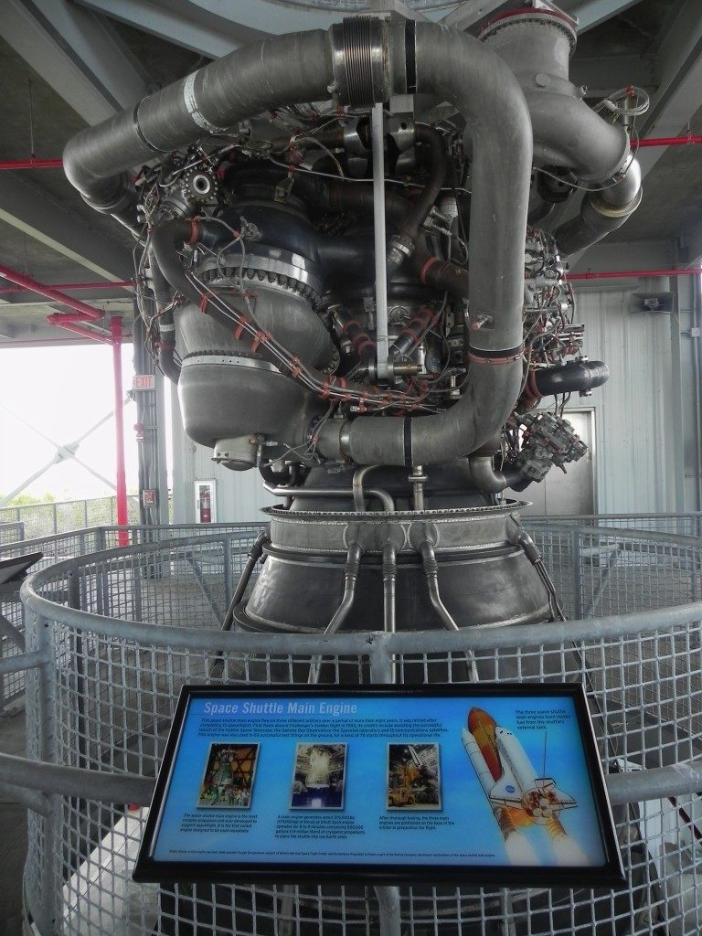 Un motore dello shuttle