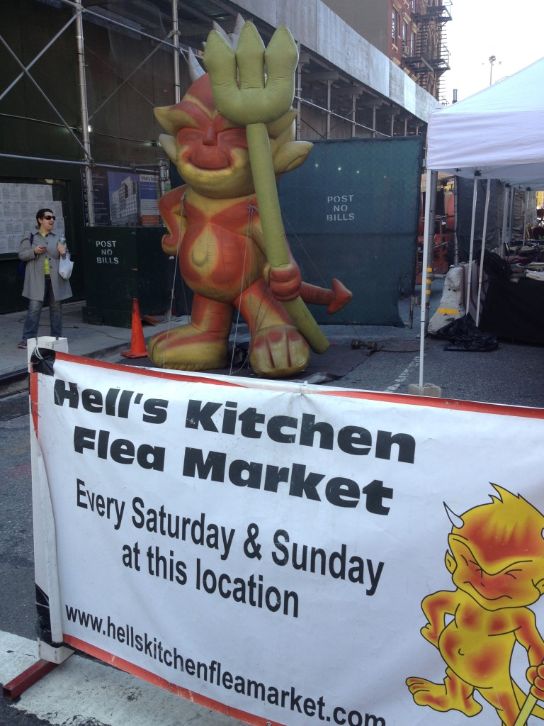 Hell's Kitchen flea market