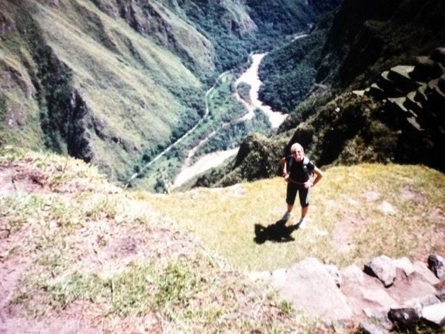 Sul Machu Picchu...