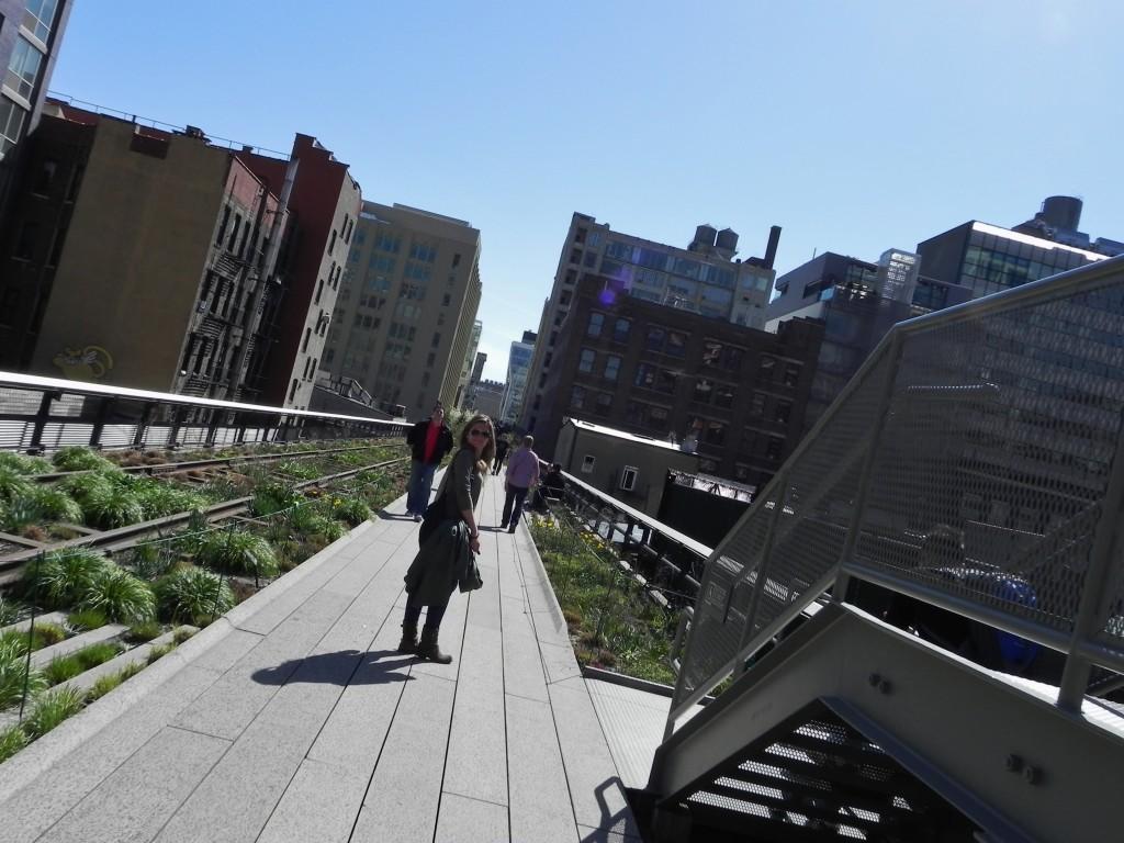 Passeggiando sulla High Line