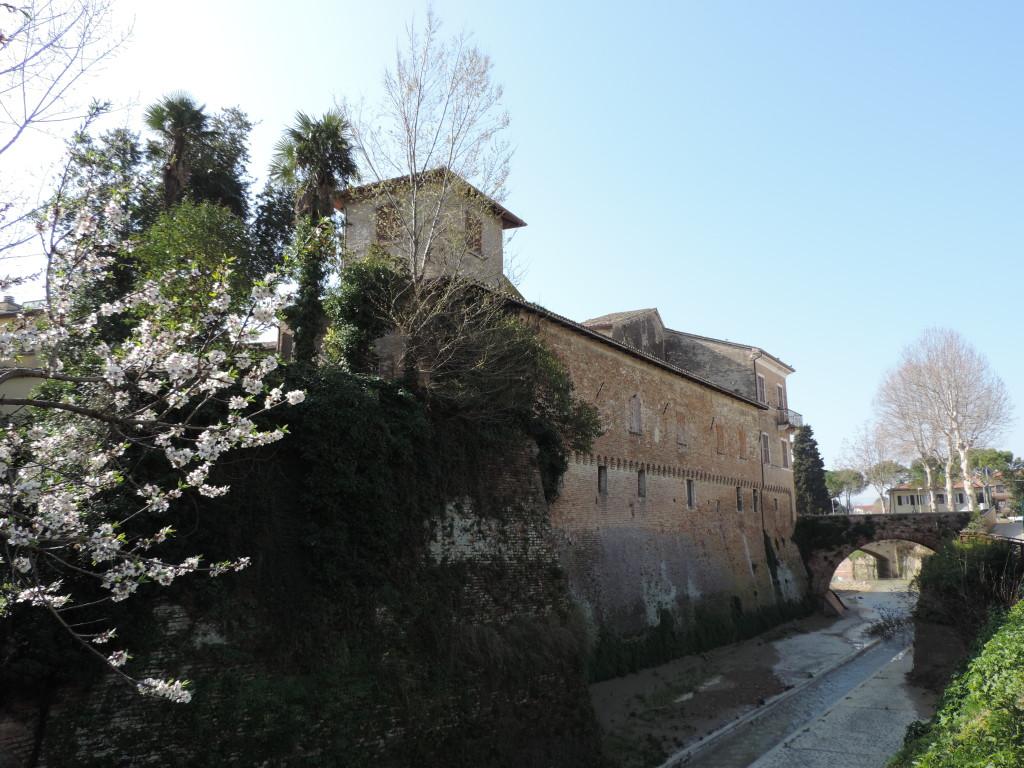 La struttura difensiva del castello