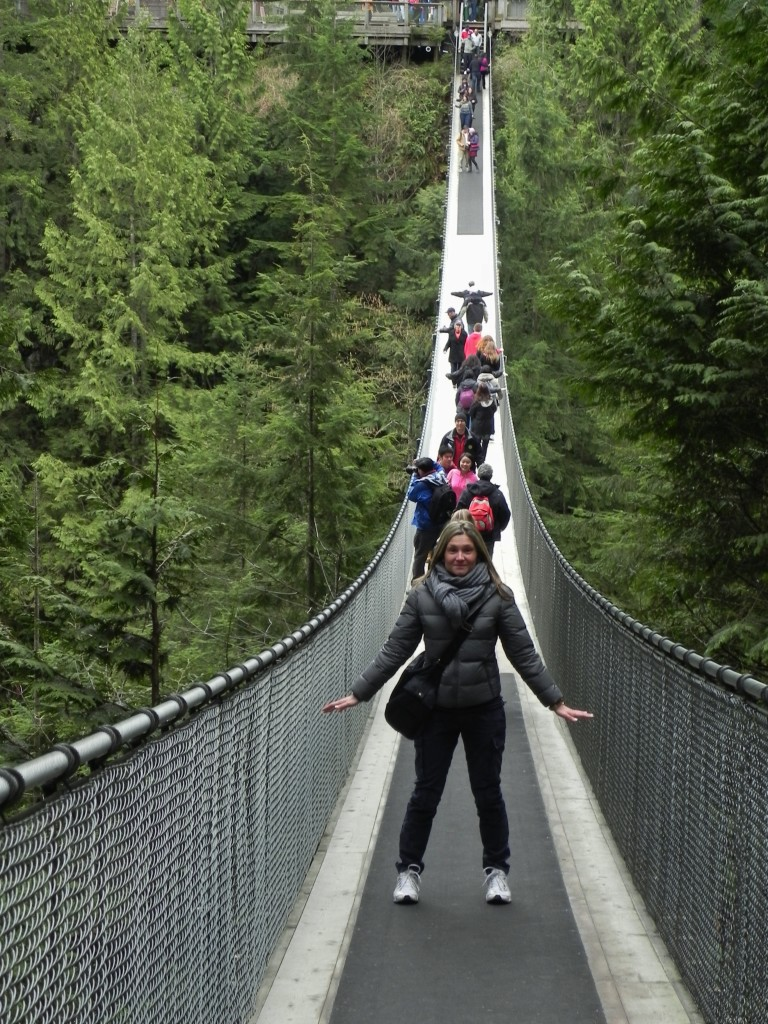 Sul Capilano Suspension Bridge