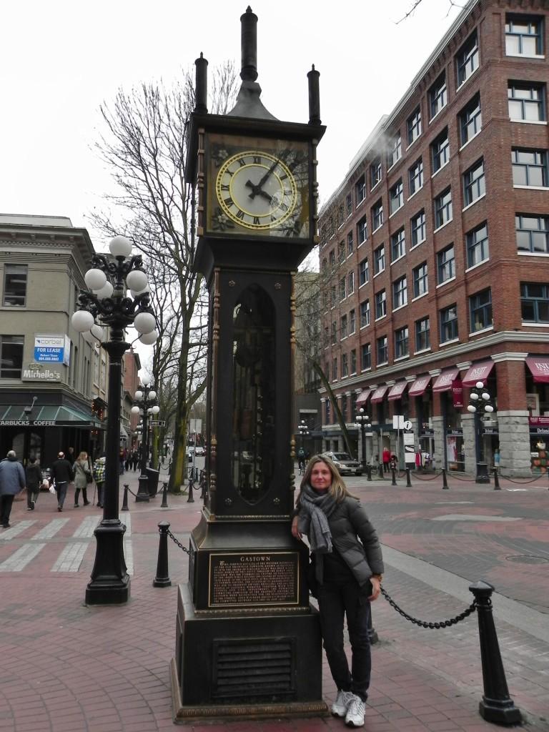 Il buffo Steam Clock
