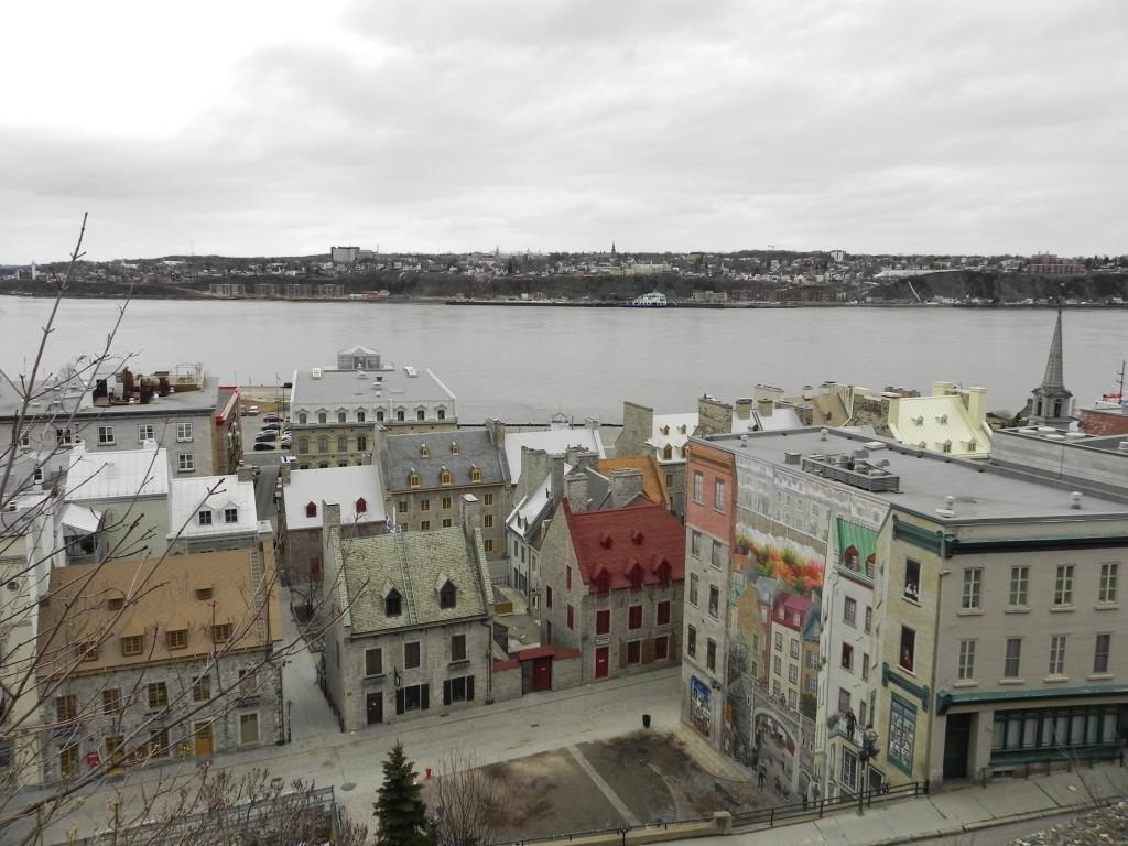 Vista dalla città alta