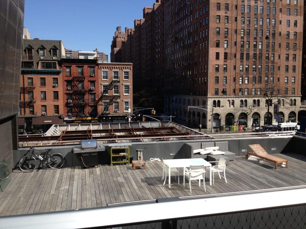 Terrazze private sulla High Line