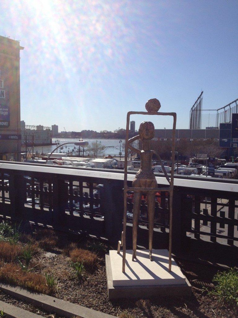 Arte moderna sulla High Line