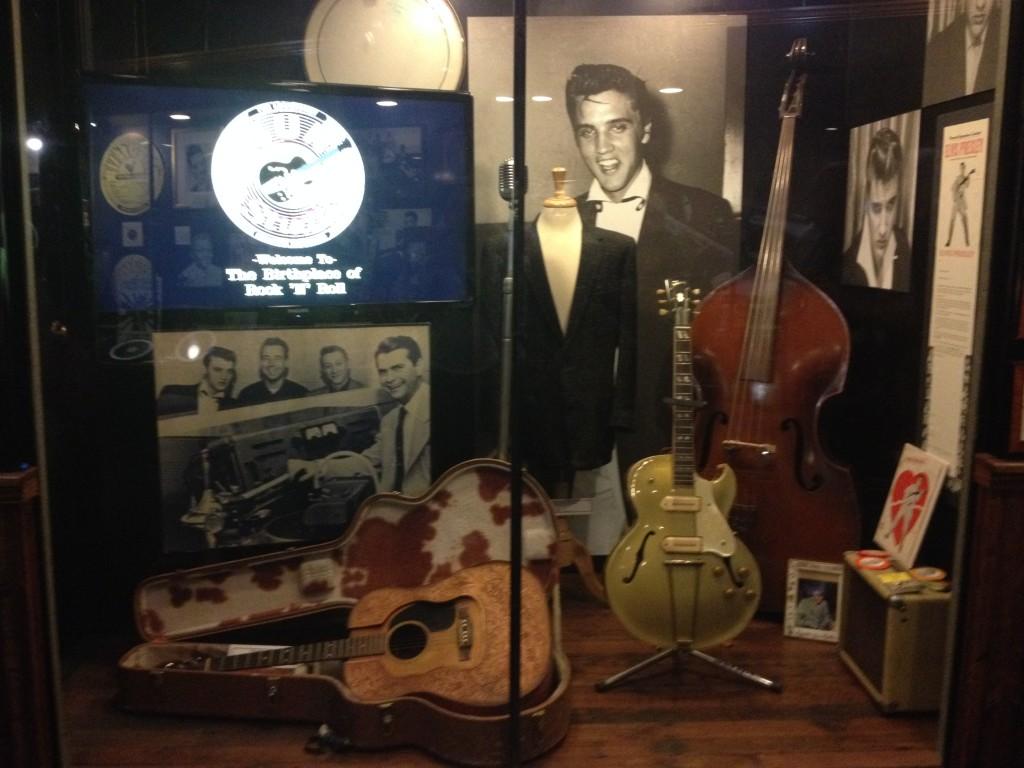 I cimeli di Elvis al Sun Studio