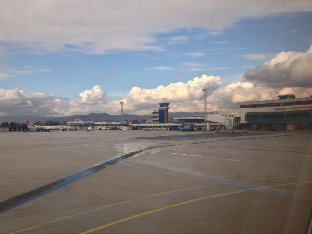 L'aeroporto internazionale di Sarajevo