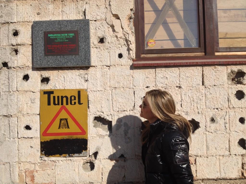 Il museo del Tunnel...