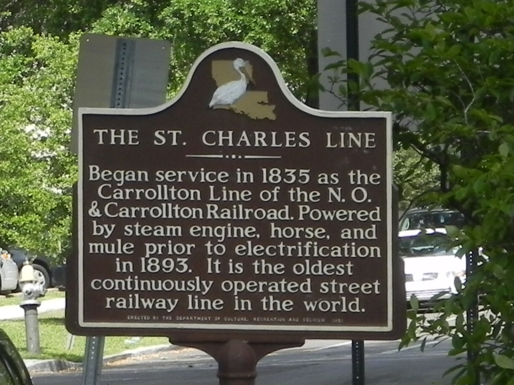 The St. Charles Line...