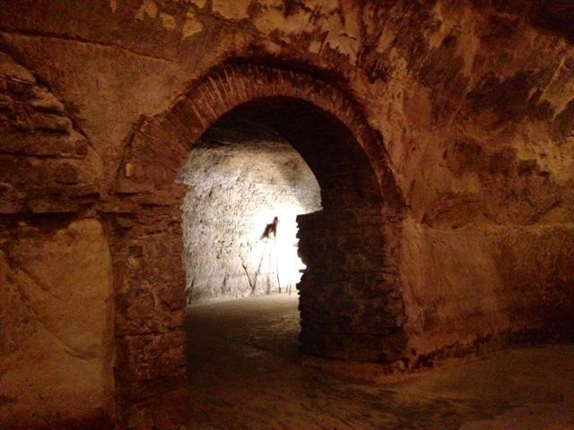 Le cave utilizzate dai gangsters