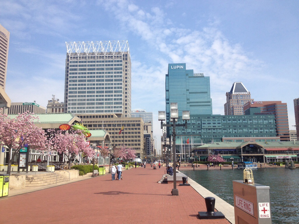 Inner Harbor view