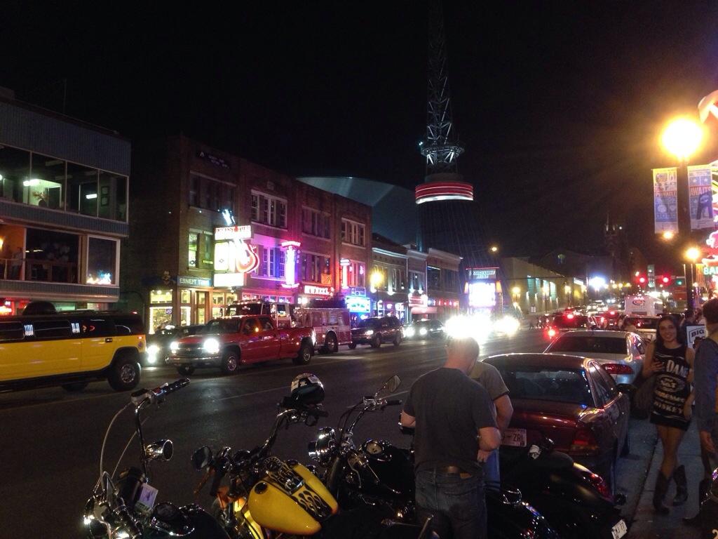 Passeggiando in Broadway street...