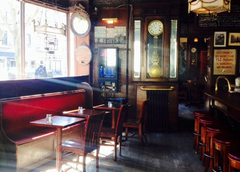Inside the White Horse Tavern