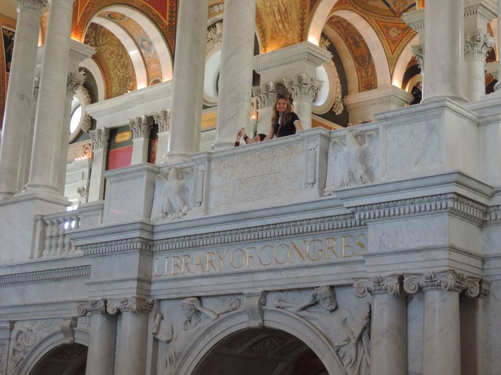 Nella Libreria del Congresso