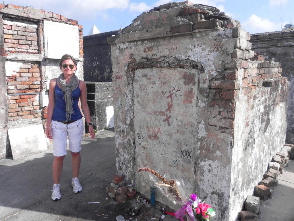Marie Leveau's gravesite