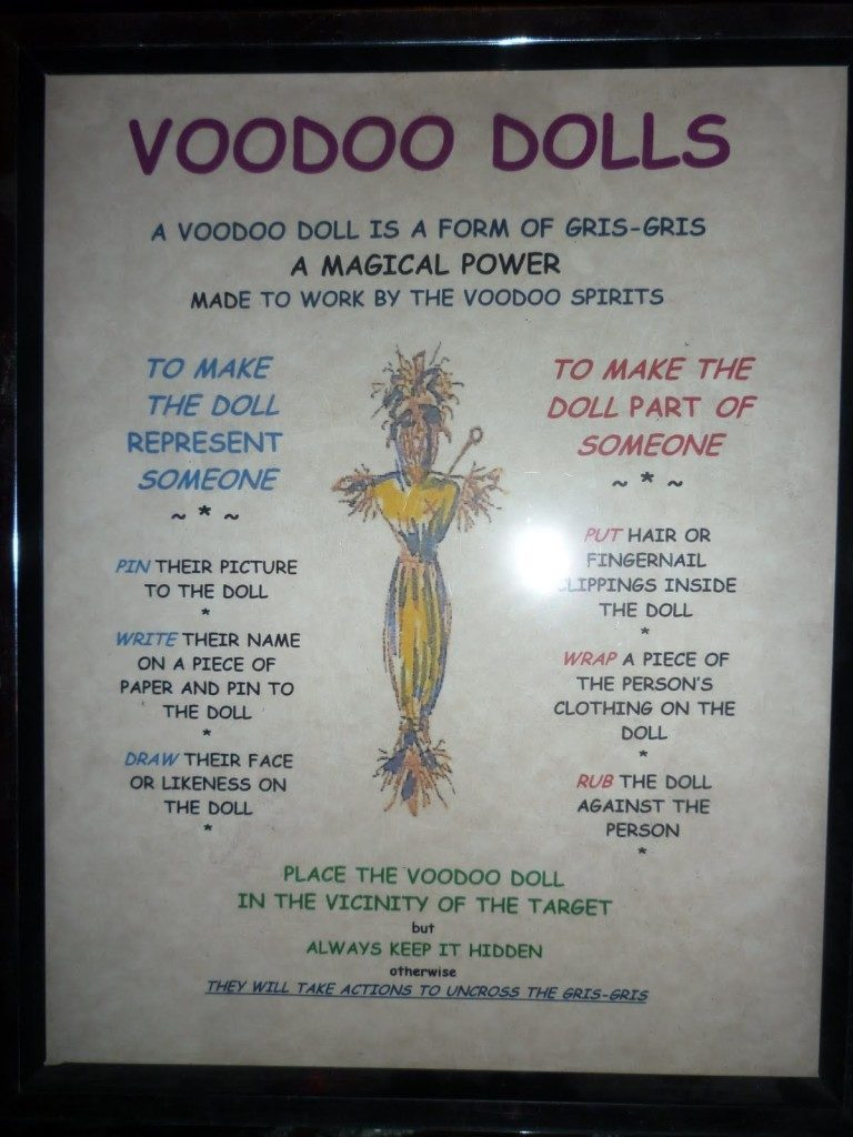 About the Voodoo Dolls