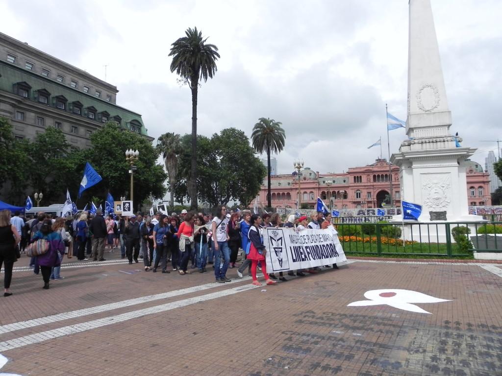 Buenos Aires, la protesta delle Madri della Plaza de Mayo