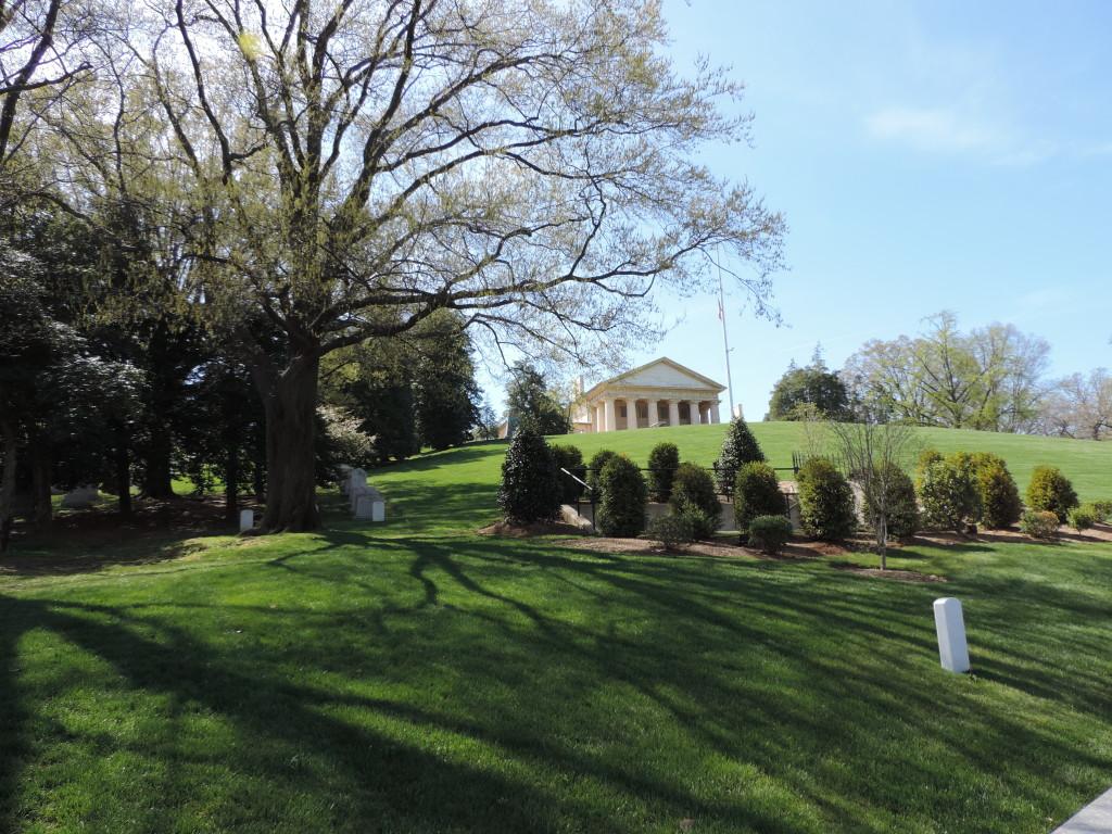 La collina di Arlington e la casa del Generale Lee