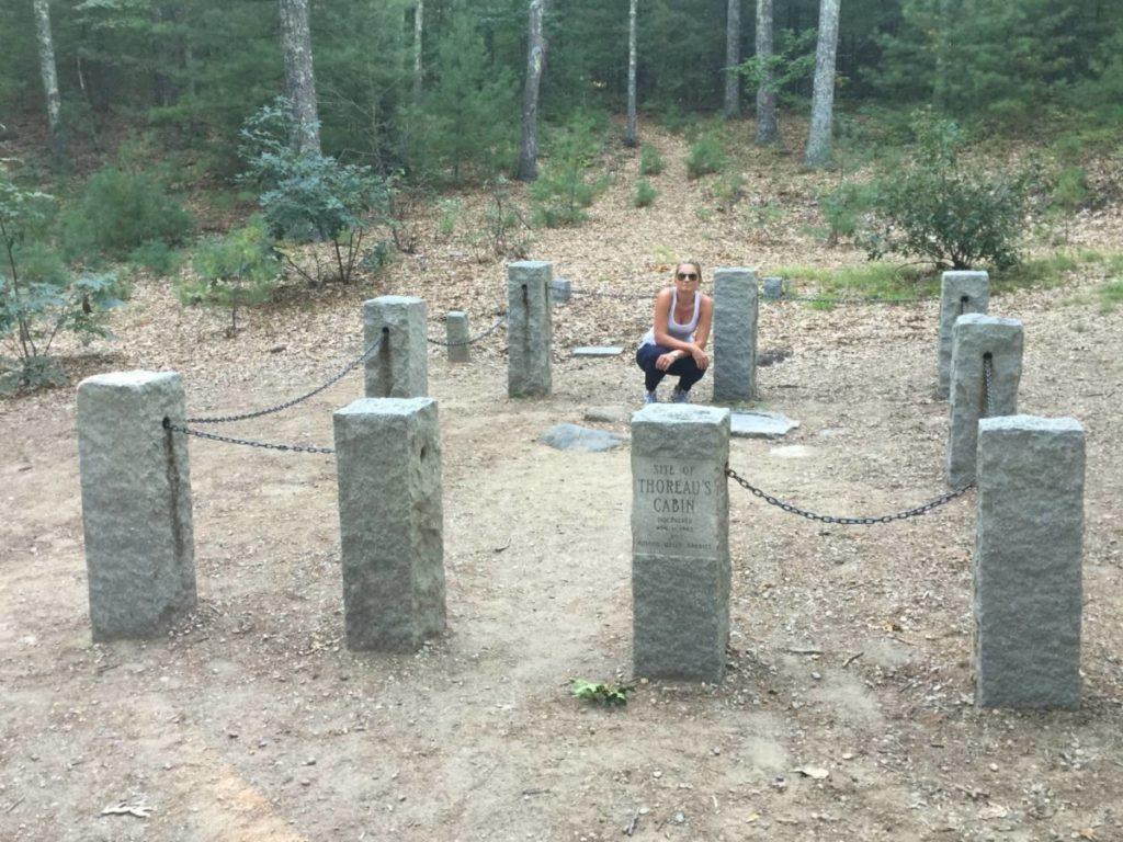 Walden Pond, il sito nei boschi della capanna di Thoreau