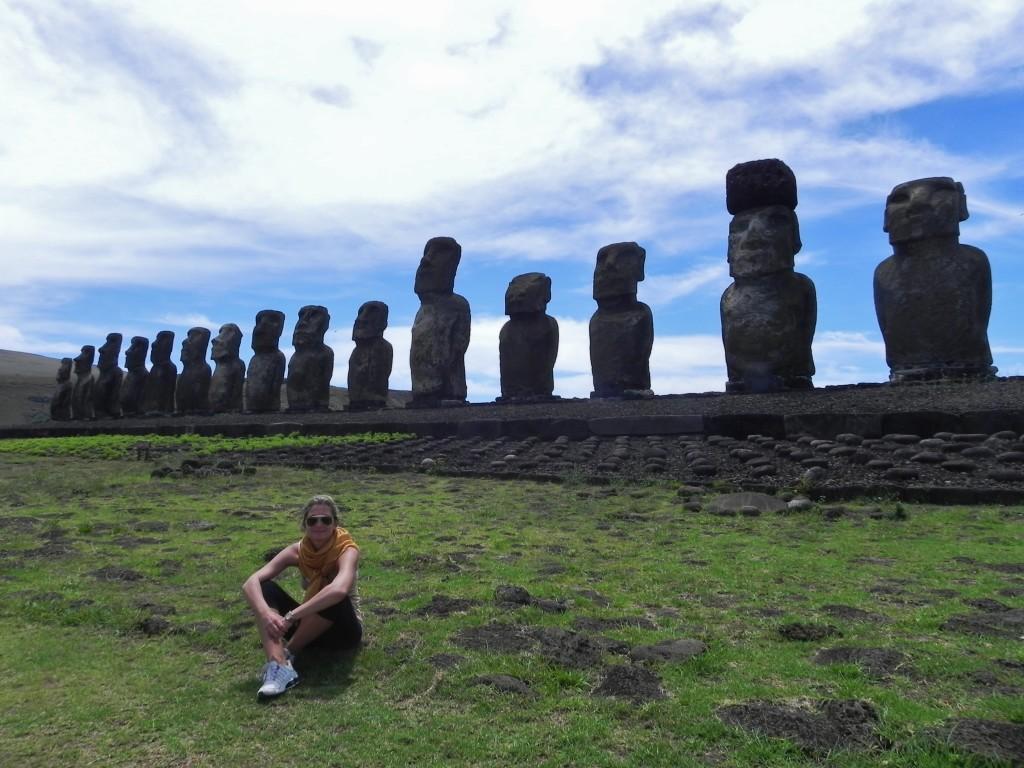I Moai di Ahu Tongariki