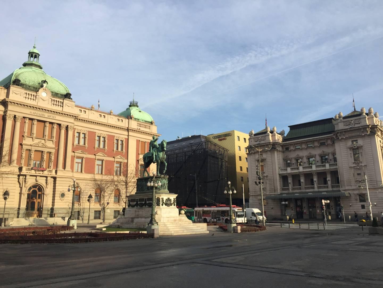 Belgrado, Trg Republique