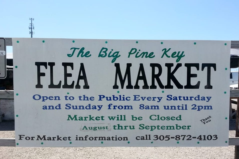 Scoprire le Florida Keys: Big Pine Flea Market