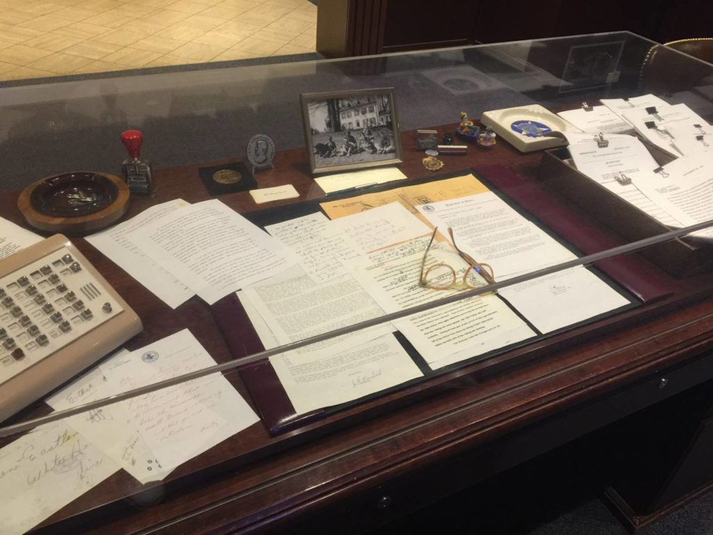Bobby Kennedy's original writing desk