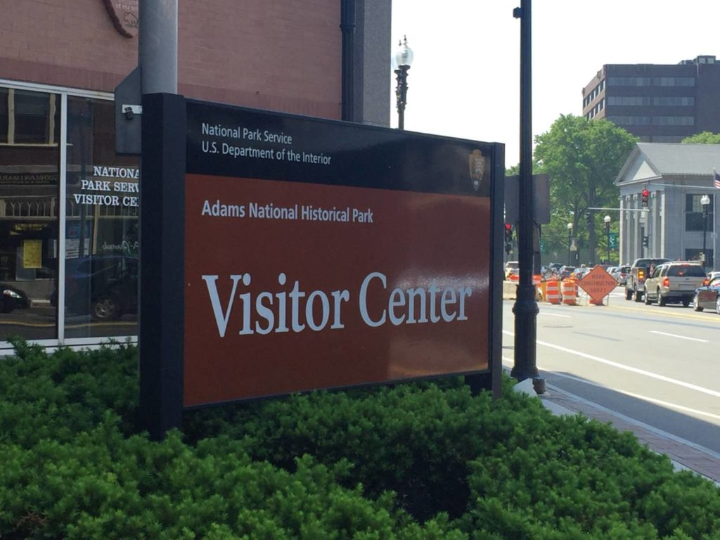 Boston and the neighborhoods: Adams National Historical Park, Visitor Center