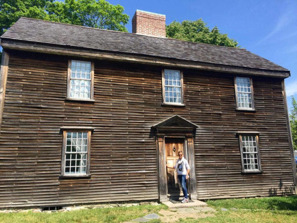 Boston and the neighbourhoods: John Adams House, Quincy