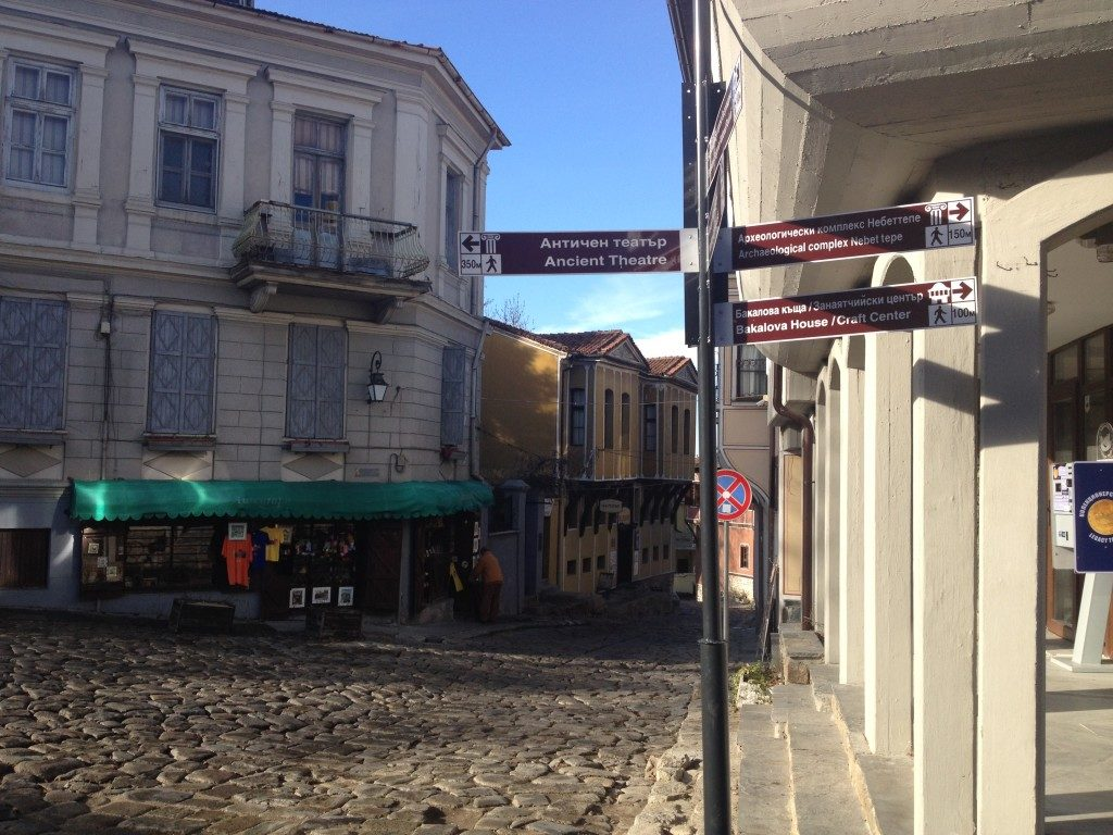 Plovdiv, nella città vecchia