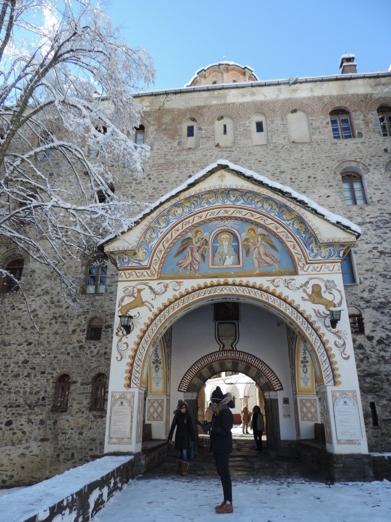 The Rila Monastery, the other entry
