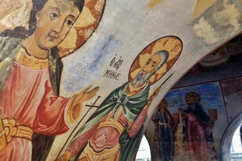 Bachkovo Monastery, paintings