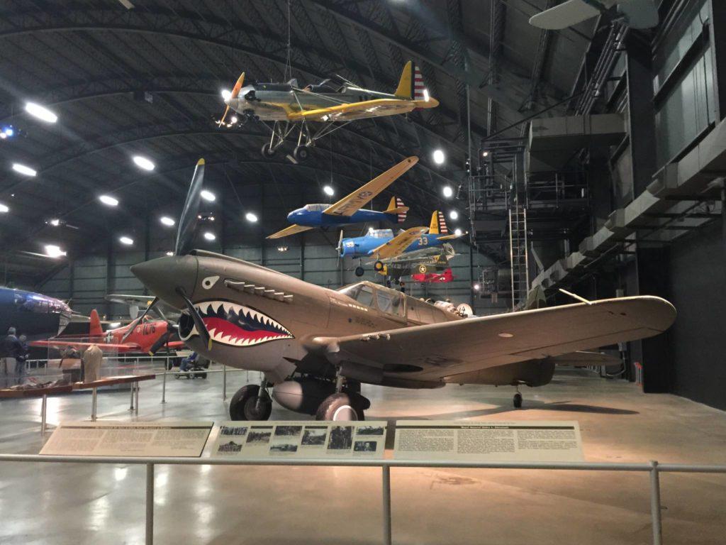 L'Hangar dedicato alla Seconda Guerra Mondiale
