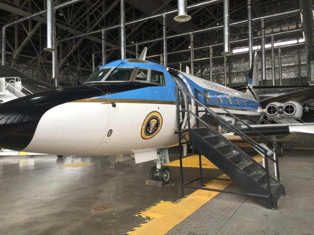 L'aereo presidenziale di Ronald Reagan