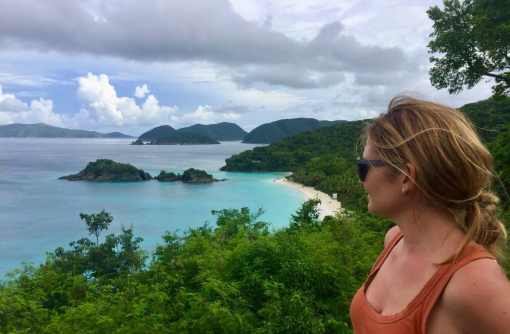 What to see in St. John: view of Trunk Bay