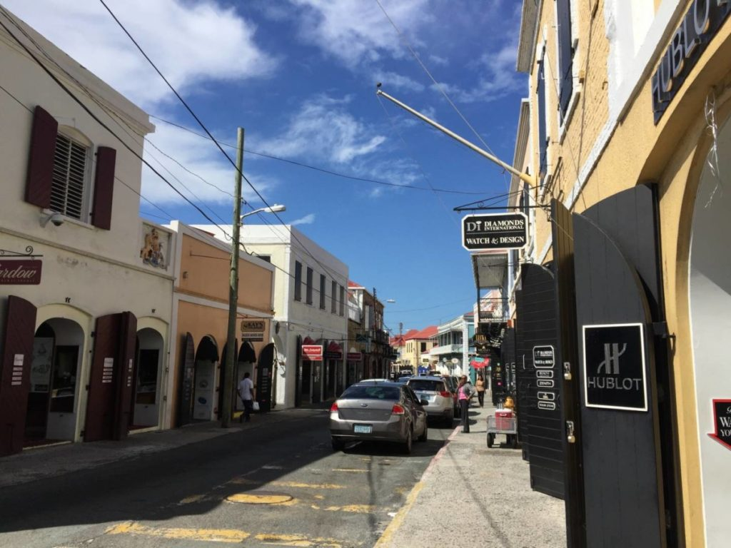 Cosa vedere a St. Thomas: Main street, Charlotte Amalie